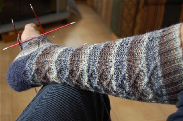 Tricoter des bas - Comment tricoter des chaussettes en laine ...